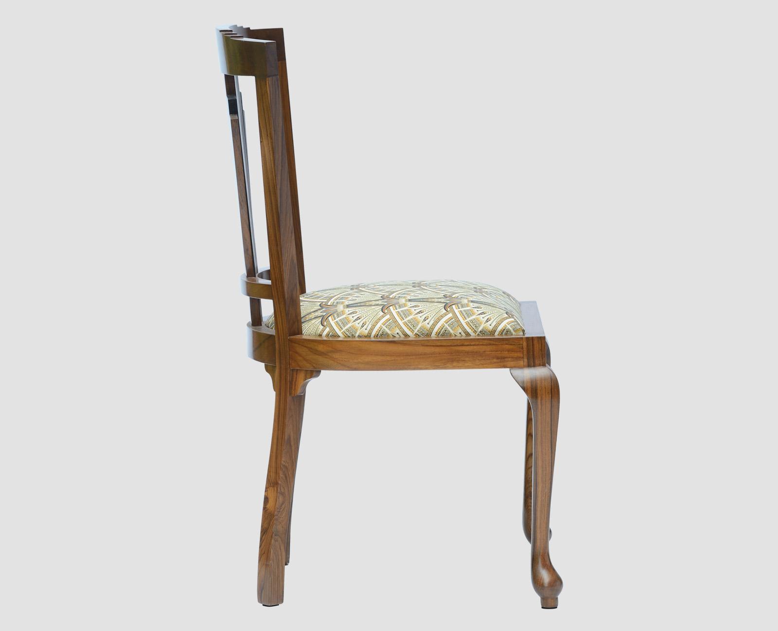 Art Deco Dining Chair Sadaya Guild